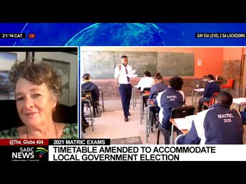 LGE 2021 | Reaction to earlier start of matric exams due to elections: Prof. Mary Metcalfe