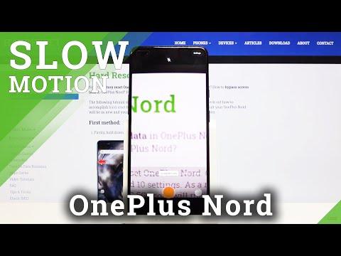 How to Record in Slow Motion in OnePlus Nord – Camera Slow Motion Feature