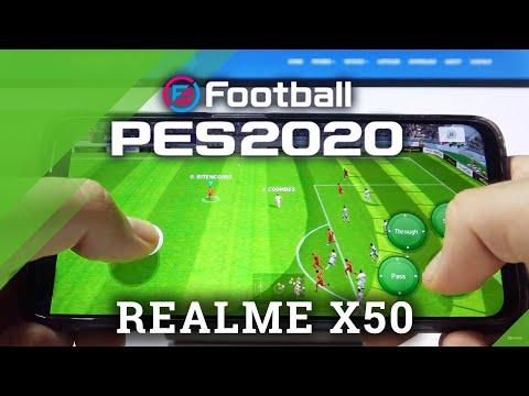 PES on REALME X50 – Pro Evolution Soccer