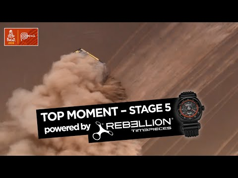 Top Moment by Rebellion - Stage 5 (Tacna / Arequipa) - Dakar 2019