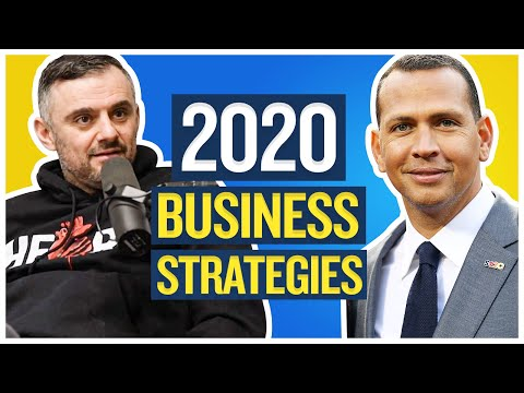 Gary Vaynerchuk and Alex Rodriguez Discuss New Business Strategies During the 2020 Pandemic