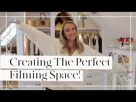 CREATING THE PERFECT FILMING SET UP IN MY DRESSING ROOM  // Fashion Mumblr