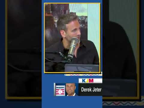 'That was emotional for me' - Max Kellerman reacts to Derek Jeter joining the Hall of Fame | #Shorts