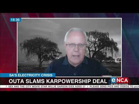 Outa slams Karpowership deal