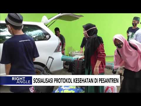Sosialisasi Protokol Kesehatan Pesantren
