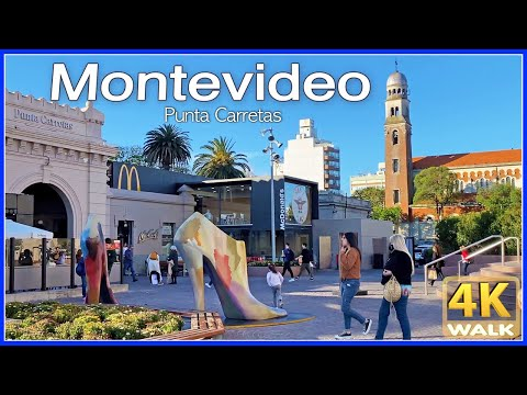 【4K】WALK Montevideo URUGUAY 4K video Shopping Mall UY travel