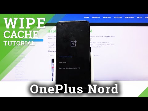 How to Wipe Cache Partition in OnePlus Nord – Remove Cache Partition