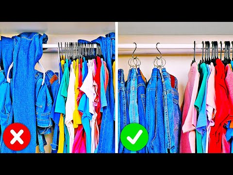 26 Smart Organization Hacks For Your Home