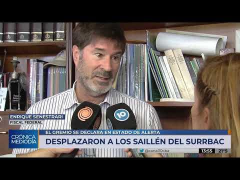 El fiscal Senestrari explicó el motivo de la intervención del SURRBAC