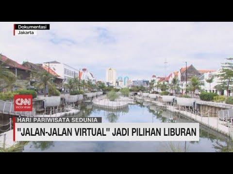 ''Jalan-Jalan Virtual'' Jadi Pilihan Liburan