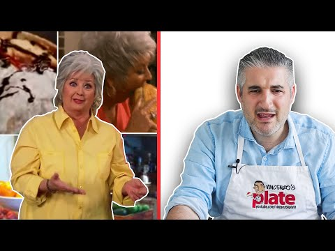 Vincenzo's Plate Meet PAULA DEEN FOOD for the First Time