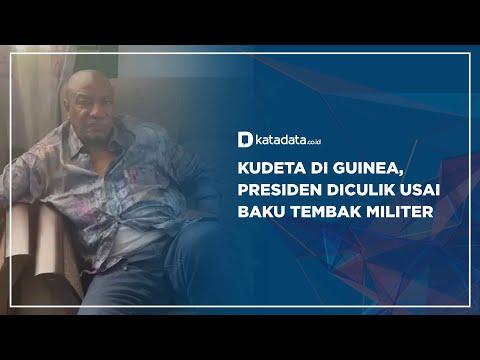 Kudeta di Guinea, Presiden Diculik Usai Baku Tembak Militer | Katadata Indonesia