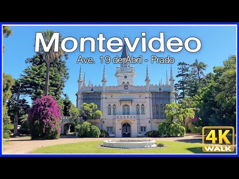 【4K】WALK Montevideo URUGUAY 4K video PRADO UY travel vlog