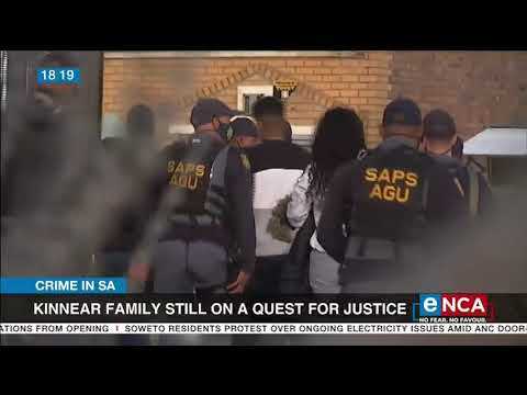 Kinnear family still on a quest for justice