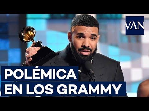 Polémica en los GRAMMY 2019: Cortan el discurso de Drake