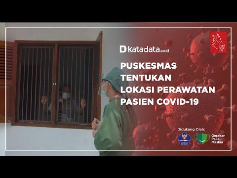Puskesmas Tentukan Lokasi Perawatan Pasien Covid-19 | Katadata Indonesia