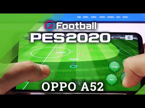 PES Mobile Gameplay on OPPO A52
