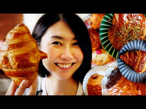 Rie Tries 10 Croissants From Los Angeles