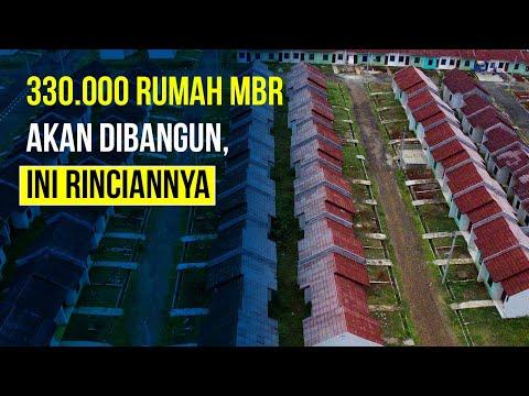 Kementerian PUPR Siapkan 330.000 Unit Rumah MBR
