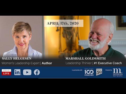 The key role of women's leadership skills and strengths - Marshall Goldsmith LIVE w. Sally Helgesen