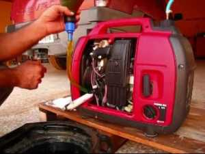 Oil change tool for Honda EU2000i Generator | Richard Yoo's Weblog