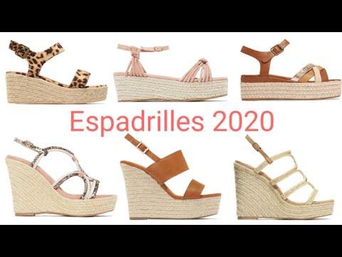 Espadrilles  2020 / sandalias de moda 2020 / latest sandals 2020 / sapatos verao 2020