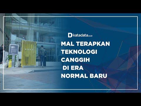 Mal Terapkan Teknologi Canggih di Era Normal | Katadata Indonesia