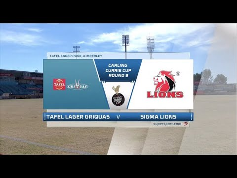 Currie Cup Premier Division | Griquas v Lions | Highlights