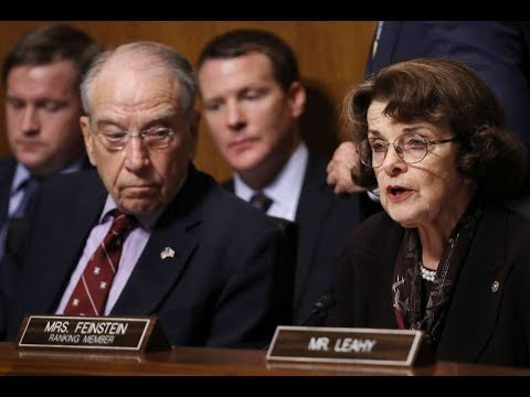 FBI INVESTIGATING SEN. FEINSTEIN LEAK OF KAVANAUGH ACCUSER LETTER. SENATE SENDS FBI REFERRAL