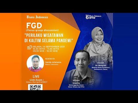 Diskusi Bisnis Indonesia - Perilaku Wisatawan di Kaltim Selama Pandemi