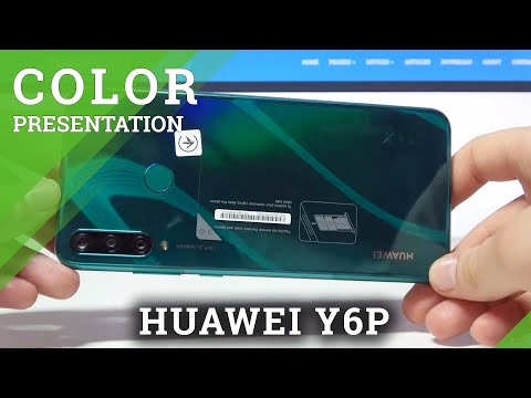 Color Presentation of Huawei Y6P Green - Check out Huawei Green Shade