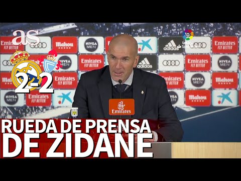 Real Madrid 2 - Celta 2 | ZIDANE habla en RUEDA DE PRENSA | Diario As