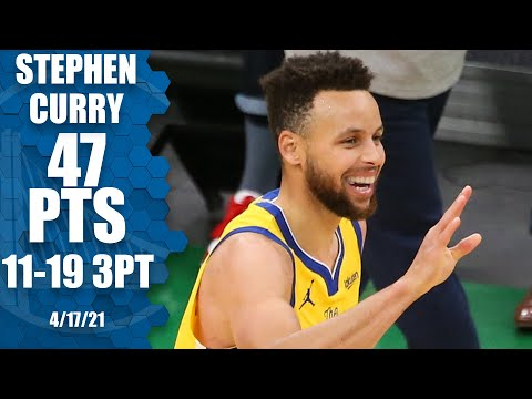 Stephen Curry drops 47 PTS & 11 3PM in Warrior…