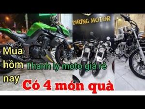 chi ân 50 khách đầu tiên,khi mua môtô bất kì, sẻ nhận được 4 món quà.bình dương| Mỹ Motor