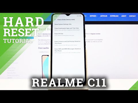 How to Hard Reset REALME C11 – Factory Reset via Settings