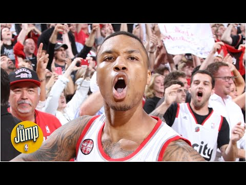 Did Damian Lillard's tweet lead to fans being allowed at Blazers games? | The Jump