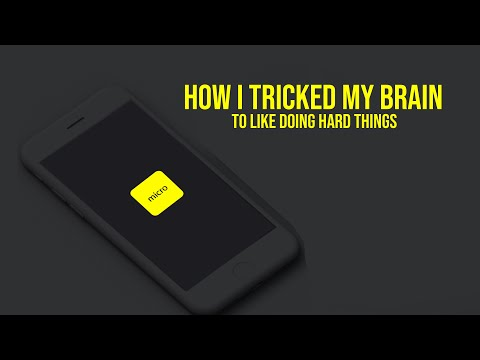 Increase Your Dopamine Levels in 20 Minutes | How I tricked my brain to like doing hard things