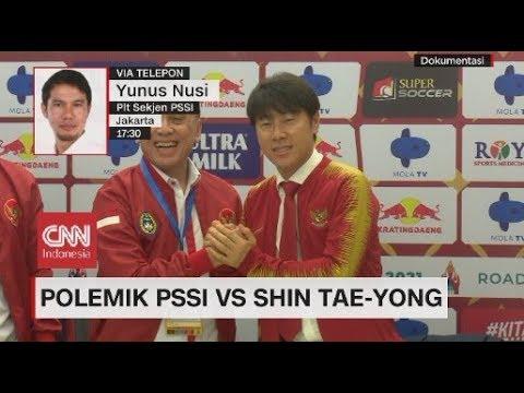 Polemik PSSI vs Shin Tae-Yong