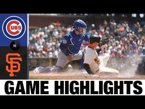 Cubs vs. Giants Game Highlights (6/6/21)   MLB Highlights