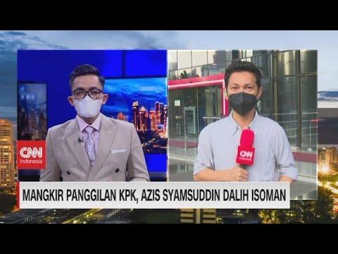 Mangkir Panggilan KPK, Azis Syamsuddin Dalih Isoman