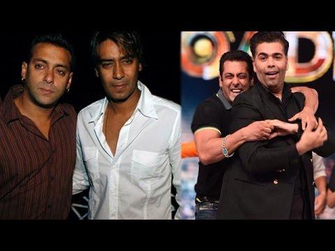 Salman & Ajay Face Friendship Crisis Because Of Karan Johar   Bollywood News