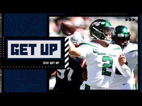 The Jets have thrown Zach Wilson to the wolves! - Mike Greenberg on Patriots vs. Jets | Get Up