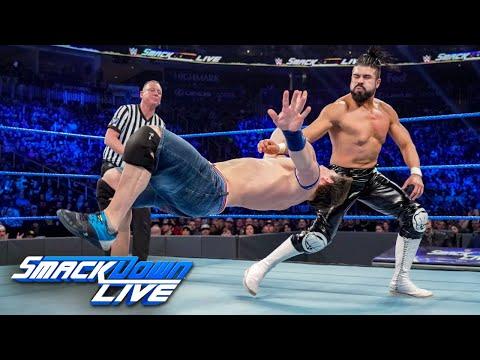HINDI - Cena & Lynch vs. Almas & Vega: SmackDown LIVE, 1 January, 2019