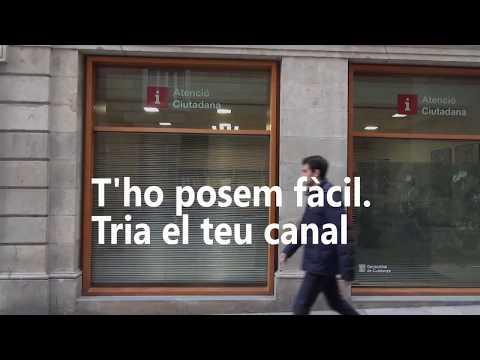 Canals de contacte amb la Generalitat de Catalunya