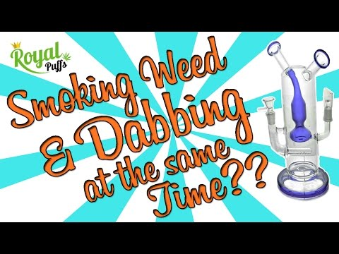 HOW TO SMOKE WEED & DAB AT THE SAME TIME!!