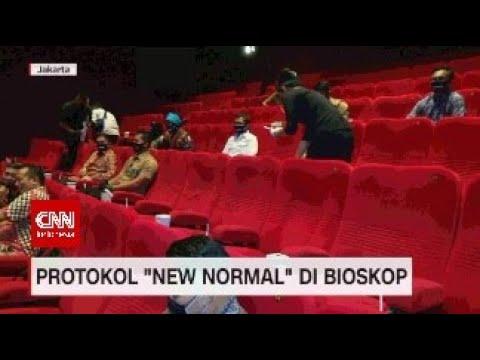 Protokol New Normal di Bioskop