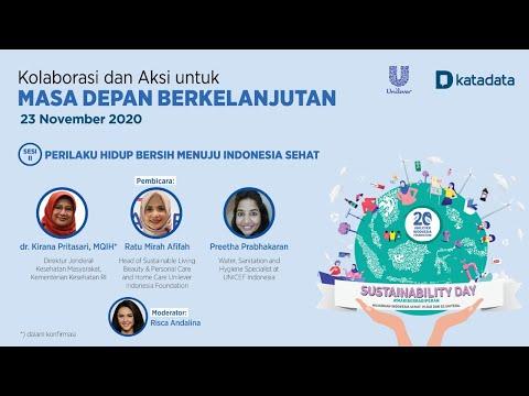 Sesi 2 Unilever Katadata: Sustainability Day 2020