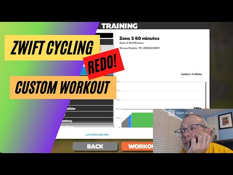 How-to Do a Custom Workout in Zwift Cycling (redo)