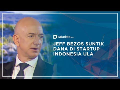 Jeff Bezos Suntik Dana di Startup Indonesia, Ula | Katadata Indonesia