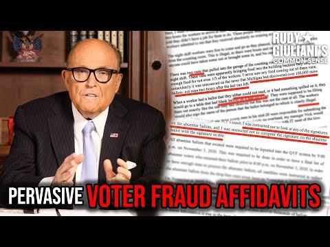REVEALED: Sworn Evidence Of Pervasive Voter Fraud | Rudy Giuliani | Ep. 86